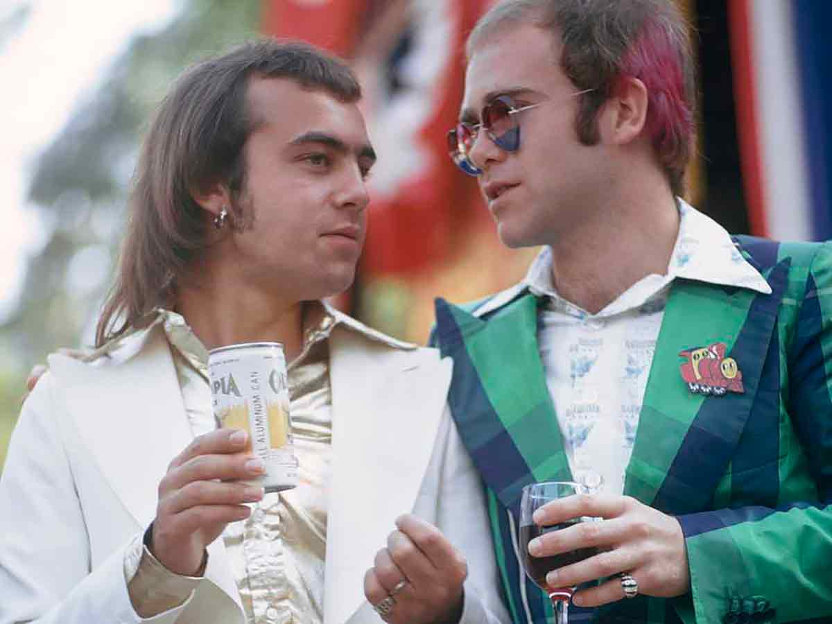 Bernie Taupin Elton John