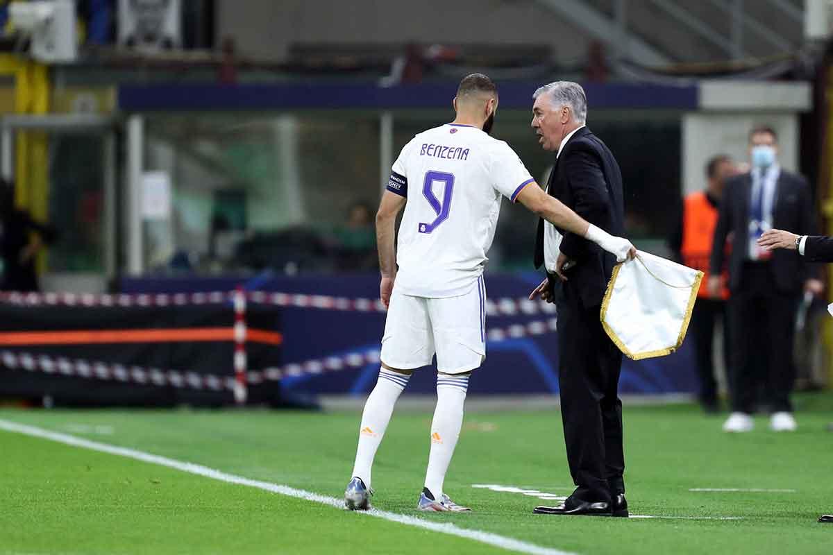 Ancelotti y Benzema