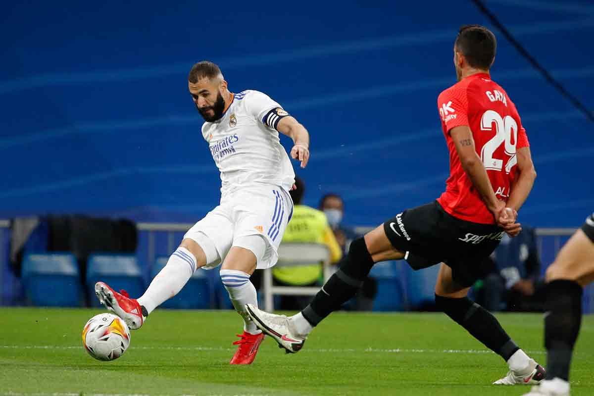 Benzema gol Mallorca