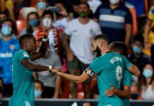 Las notas del Valencia, 1 - Real Madrid, 2