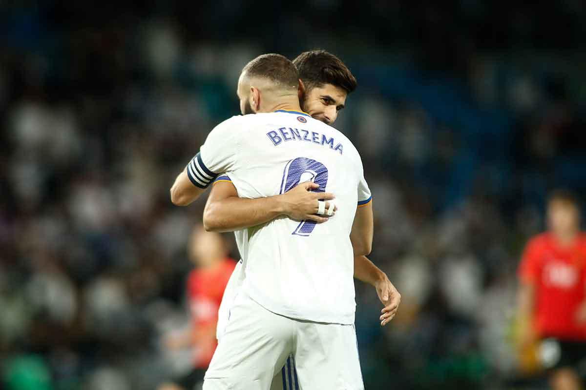 Benzema y Asensio