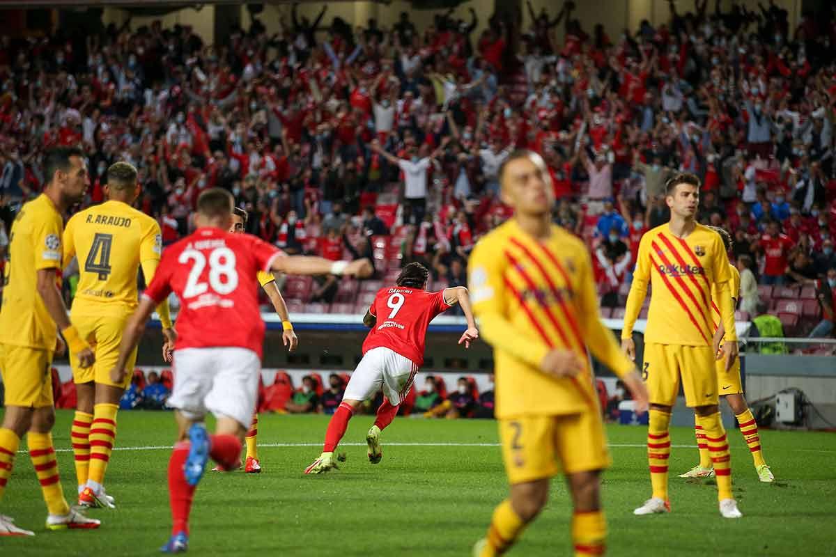 Derrota Barça Benfica