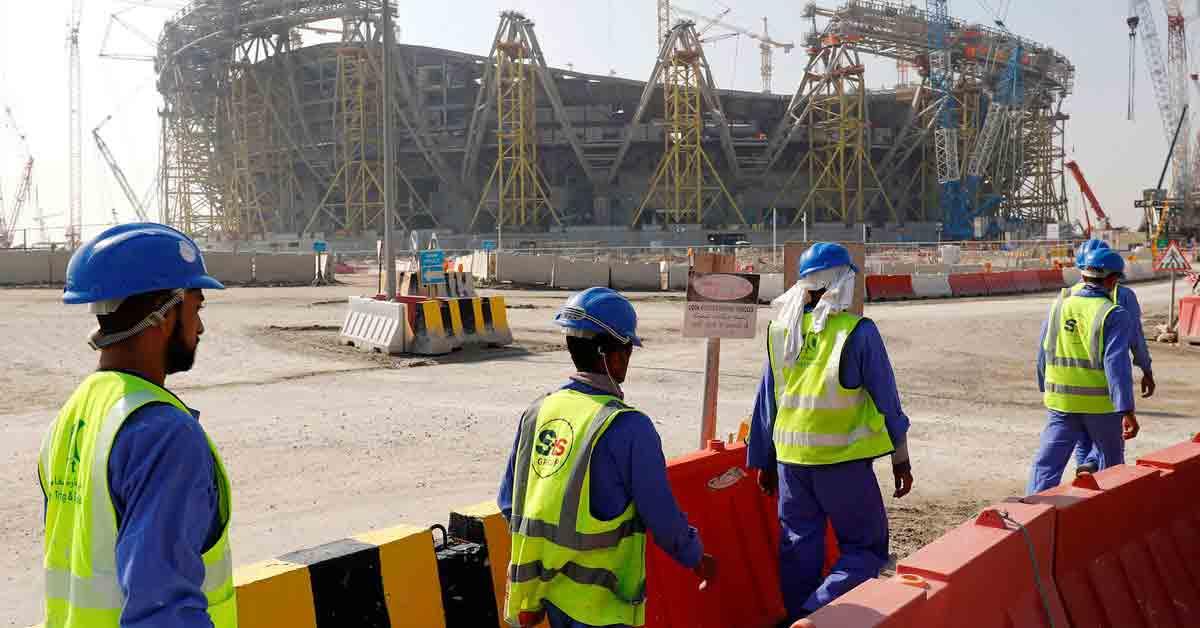 Obreros Qatar