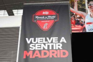 La Galerna en el maratón de Madrid