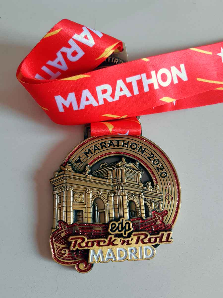 Medalla Maratón de Madrid
