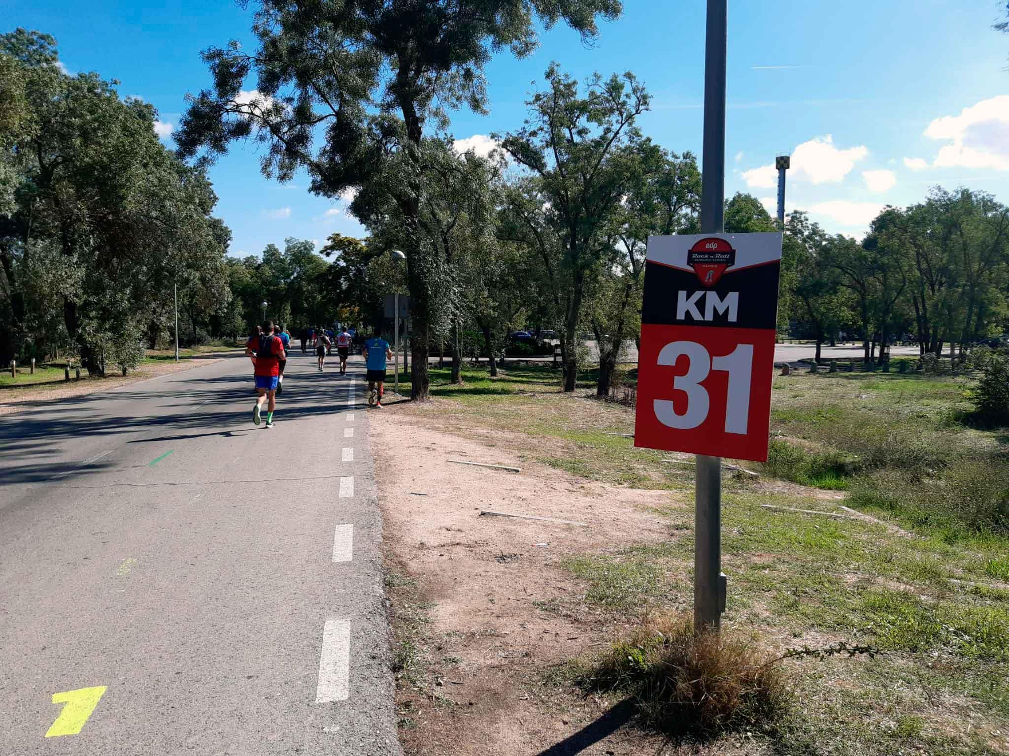 Maratón Madrid Km 31