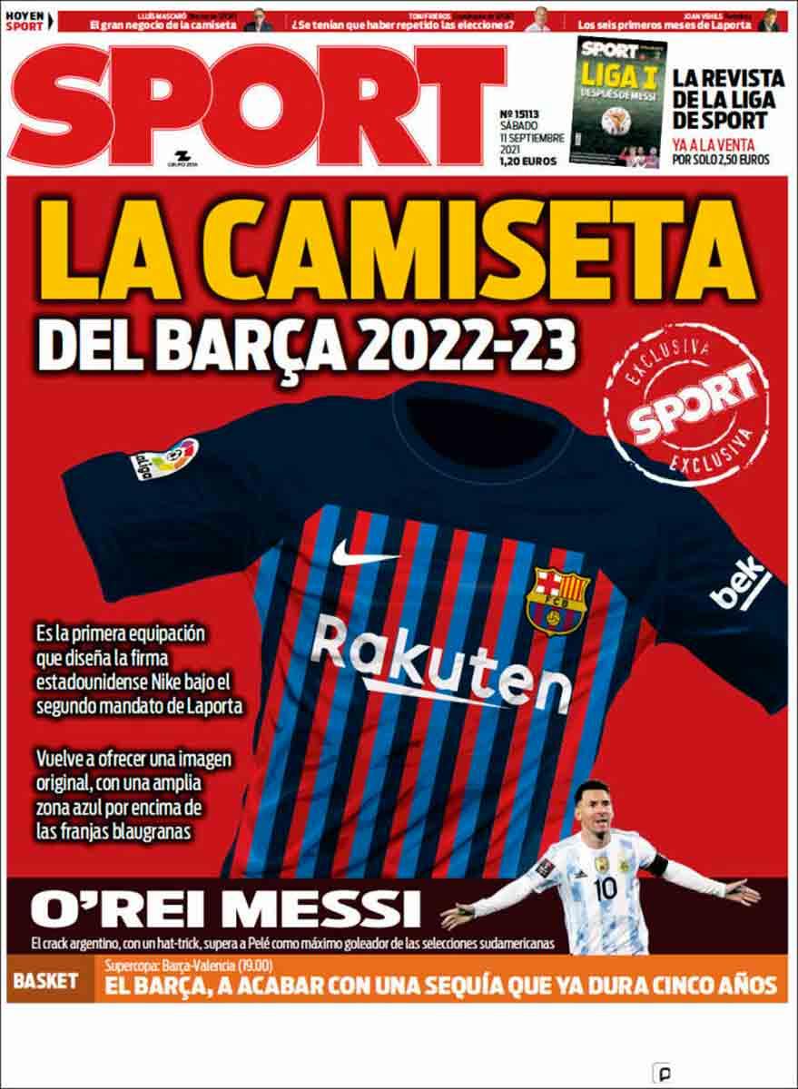 Portada Sport 11-09-21