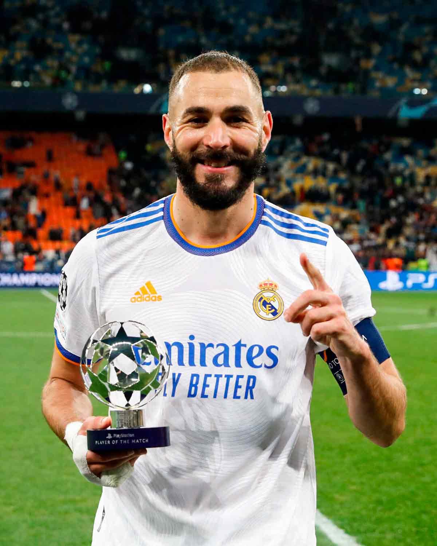 Benzema MVP UEFA