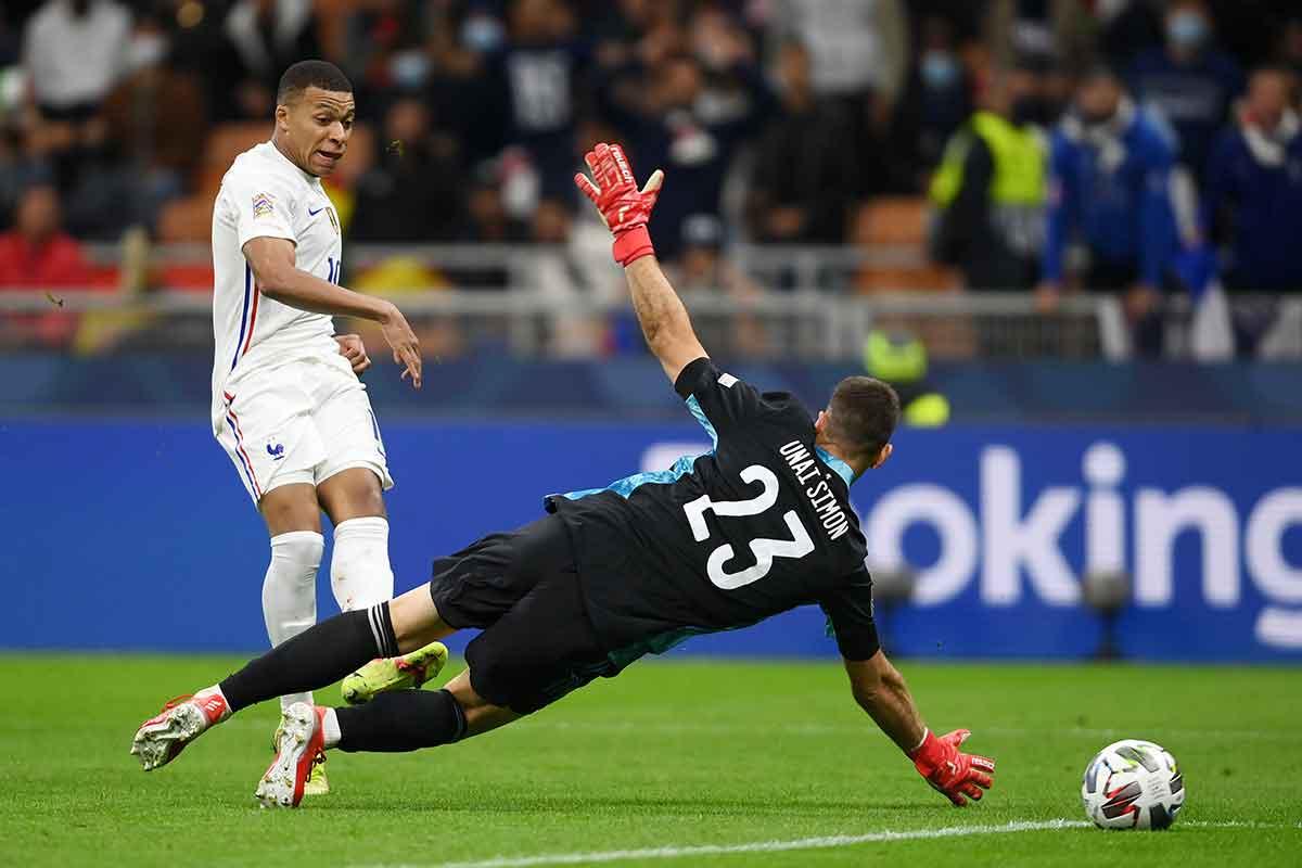 Mbappé gol España