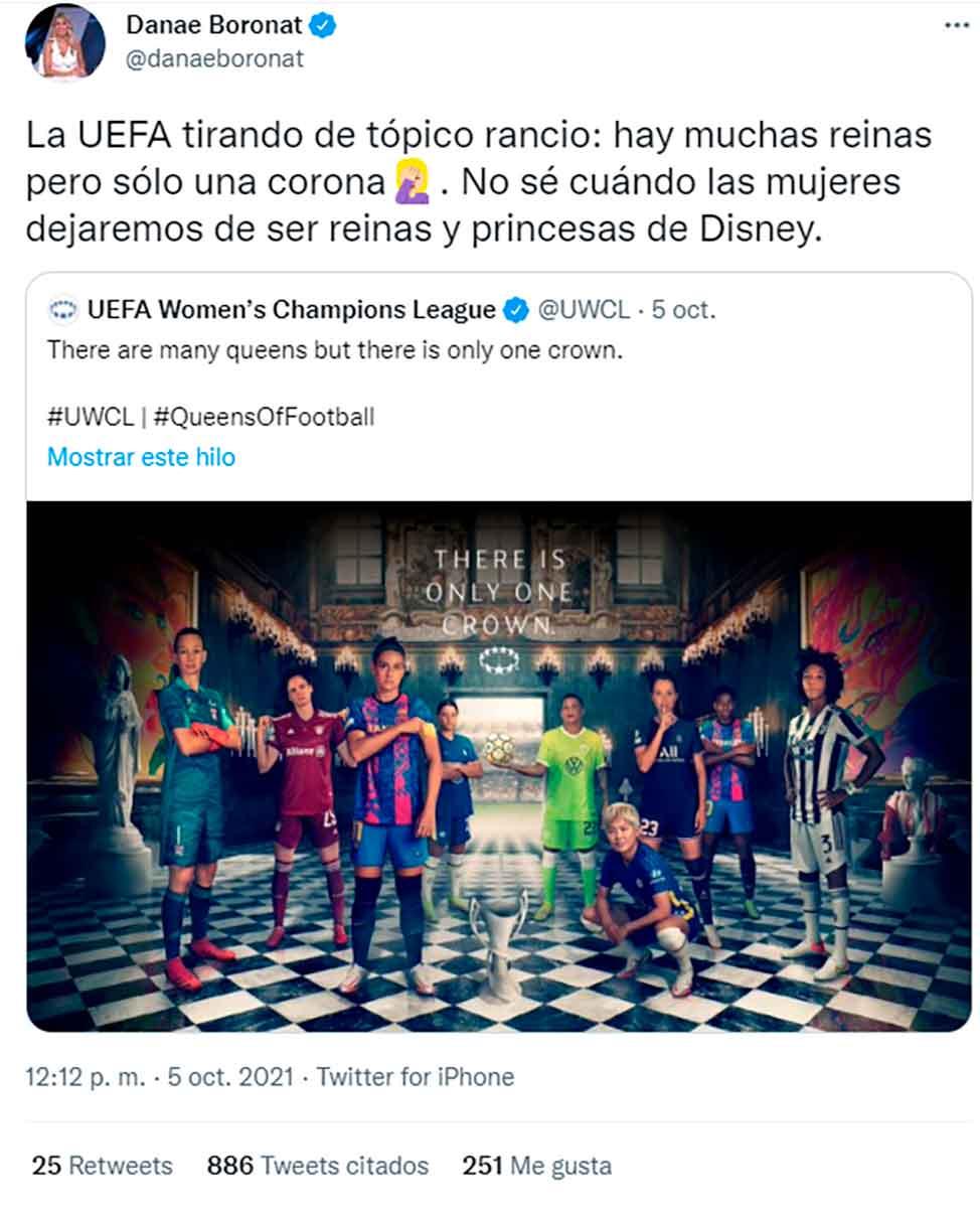 Tuit Danae UEFA