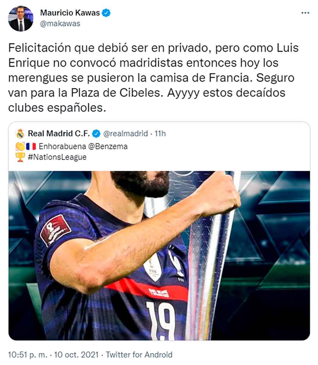 Tuit Mario Kawas