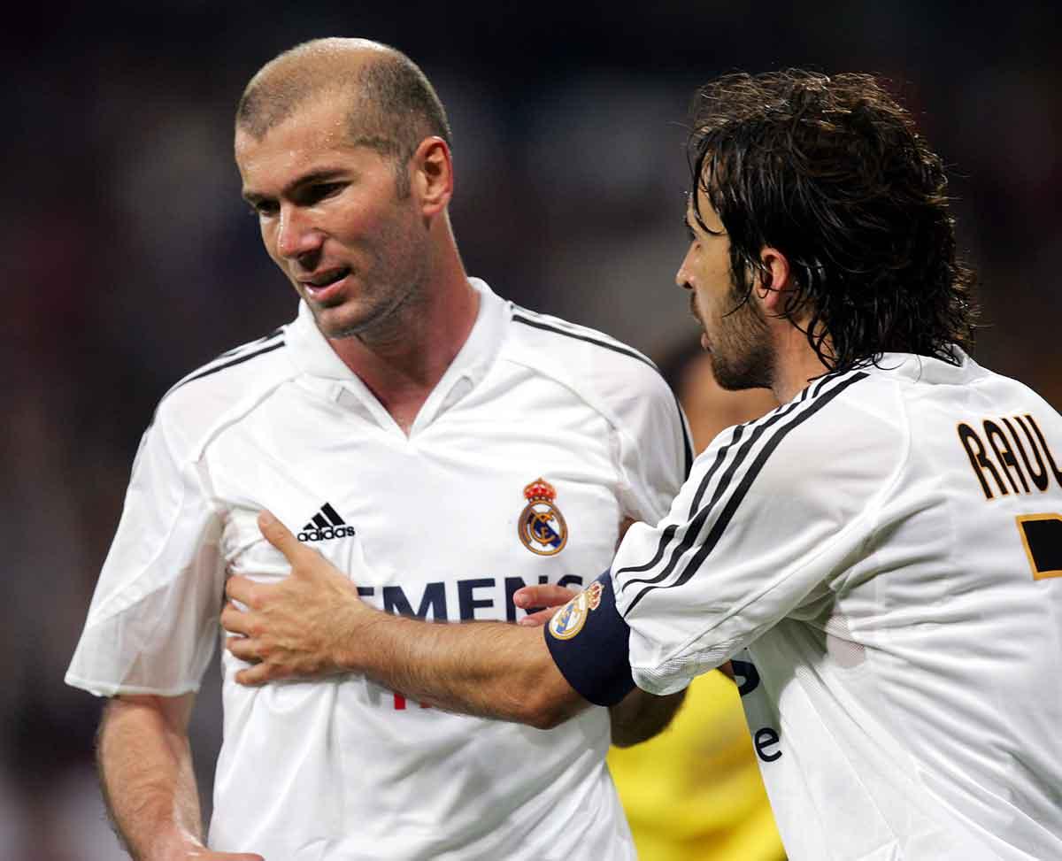 Zidane y Raúl