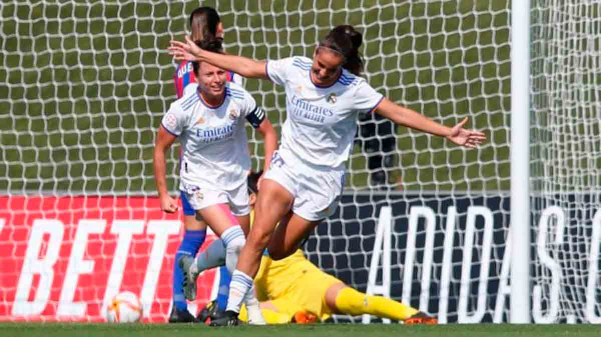 Gol Real Madrid femenino Eibar
